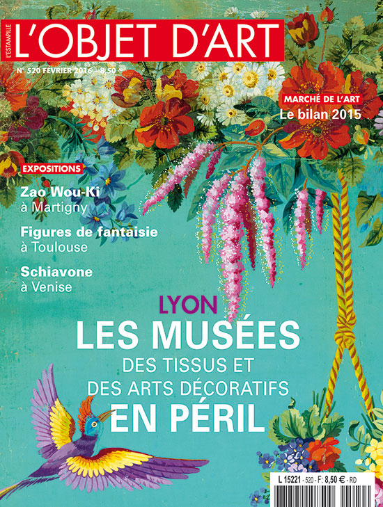 Lyon les mus es des tissus et des arts d coratifs en p ril l 39 estampille l 39 objet d 39 art n 520 - Le musee des arts decoratifs ...