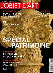L'Objet d'Art n° 549 - Oct. 18
